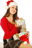 The gifts of a gracious Santa Claus - 032 — Stock Photo
