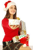 The gifts of a gracious Santa Claus - 035 — Stock Photo