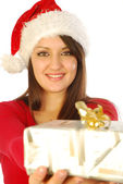 The gifts of a gracious Santa Claus - 043 — Stock Photo