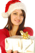 The gifts of a gracious Santa Claus - 042 — Stock Photo