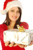 The gifts of a gracious Santa Claus - 039 — Stock Photo