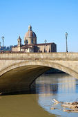 Bridge over the River Arno in Florence - 010 — Stok fotoğraf