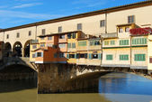 The Ponte Vecchio in Florence - Italy - 061 — Stock Photo