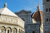 The church of Santa Maria del Fiore in Florence-Tuscany-Italy — Stock Photo