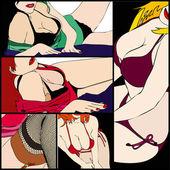 Sensualità femminile — Foto Stock