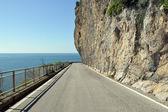 Amalfi coast - campania amalfi coast road - i̇talya — Stok fotoğraf