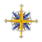 Wind Rose — Foto Stock