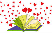The Book of Love — Foto de Stock