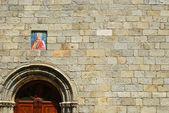 Una iglesia en tempio pausania - cerdeña — Foto de Stock