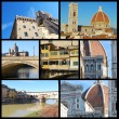 Postcards from Florence - Tuscany - Italy — Stock Photo