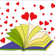 The Book of Love — Stock Vector #28099279