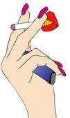 Smoking — Stock Vector
