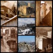 Countries of Lazio - Italy - San Vito Romano — Stock Photo