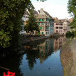 A view of the canals of Strasbourg - France — ストック写真