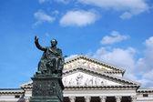 Statue in the Square Theatre in Munich - Germany — Stock Photo