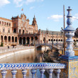 View from the deck of the Spanish Steps - Seville - Spain — Stock Photo