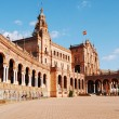 The Plaza de Espana in Seville - Spain — Stock Photo