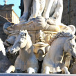 Statue of Neptune (detail) - Florence - Italy - 224 — Stock Photo