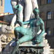 Statue of Neptune (detail) - Florence - Italy - 220 — Stock Photo