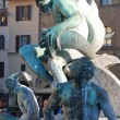Statue of Neptune (detail) - Florence - Italy - 222 — Stock Photo