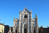 The Basilica of Santa Croce - Florence - Italy - 667 — Stock Photo