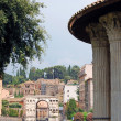 City of Rome - The Temple of Vesta — Stock Photo