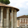 City of Rome - Cutaway of the Temple of Vesta and surroundings — Stock Photo