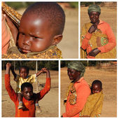 The Look of Africa - Village Pomerini - Tanzania - 2013 - — Stock Photo