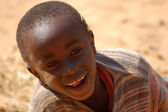 The look of Africa on the faces of children - Village Pomerini - Tanzania - August 2013 - — Stock Photo