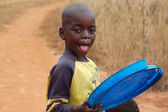 The look of Africa on the faces of children - Village Pomerini - Tanzania - August 2013 — Stock Photo