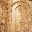 Outside wall of the Cathedral of Tropea (detail) - Calabria - It — Stock Photo