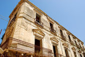 Ancient palace in abandonment - Tropea - Calabria — Stock Photo