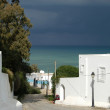 The sea seen from Sidi Bou Said — Stock Photo