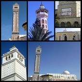 The Minarets of Tunisia - Travel in the Minarets of Tunisia — Stockfoto