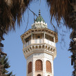The Minarets and mosques in Tunisia — Stock fotografie