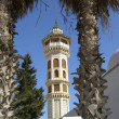 The Minarets and mosques in Tunisia — Stock Photo