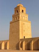 ミナレットとチュニジアのモスク — 图库照片