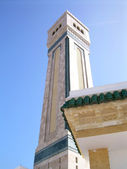 Os minaretes e mesquitas na tunísia — Fotografia Stock