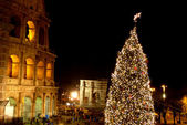 Season's Greetings from the City of Rome - Italy — Stock Photo