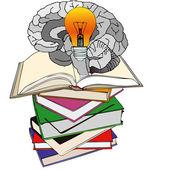 Energy for the Brain — Stock Vector
