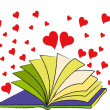 Stock Photo: The Book of Love