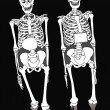 Two skeletons — Stock Photo #39947545