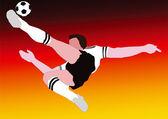 National Football - The German National - Germany — Stockfoto