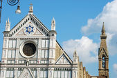 The Basilica of Santa Croce in Florence - Tuscany - Italy 515 — Stock Photo
