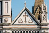 The Basilica of Santa Croce in Florence - Tuscany - Italy 510 — Stock Photo
