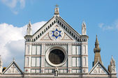 The Basilica of Santa Croce in Florence - Tuscany - Italy 504 — Stock Photo