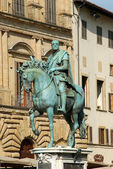 The Statue of Piazza della Signoria Florence-Tuscany-Italy 544 — Stock Photo