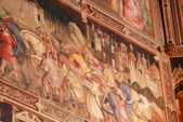 The frescoes in the Church of Santa Croce in Florence-Tuscany-It — Foto de Stock