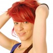 The red-haired girl — Stock Photo #45744413