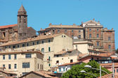 A glimpse of Genzano di Roma - Rome-Italy — Stock Photo